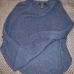 Ralph Lauren knit sweater poncho